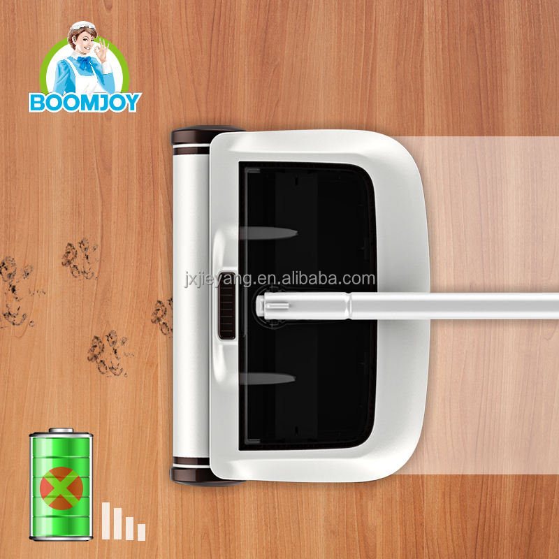 BOOMJOY Wireless Magic Hand Carpet Sweeper without Battery Floor Household Cleaning Tools