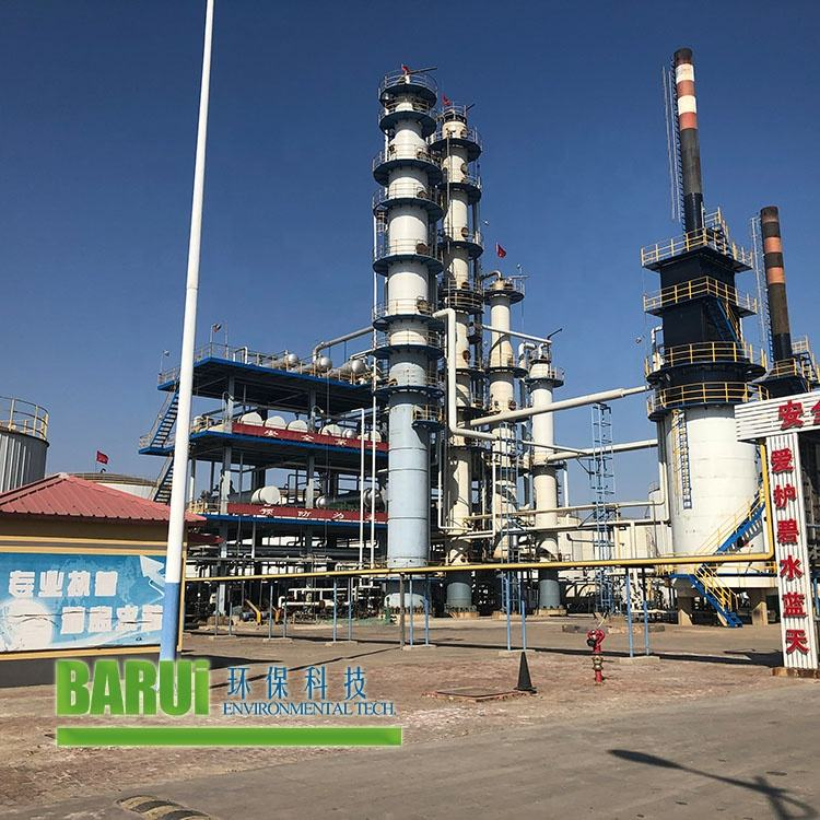 small atmosphere distillation unit crude oil refinery with equipment construction