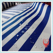 Polyester awning fabric/stripe shade cloth in wujiang