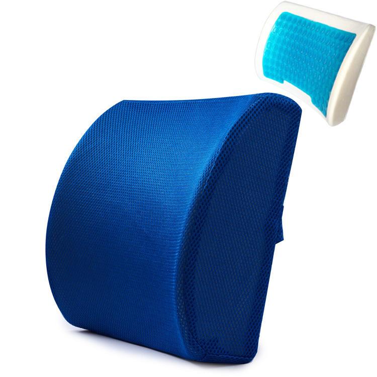 Memory Foam Trapezoid Ortopédica perna apoio Travesseiro alívio da dor No Joelho Suporte