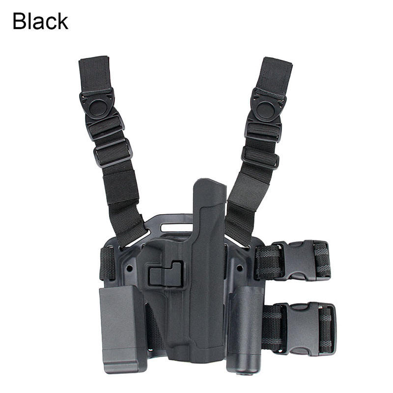 HK7-0009 Super Tactical 어깨 Holster Military Army 장비 권총 P226 Holster 와 플랫폼