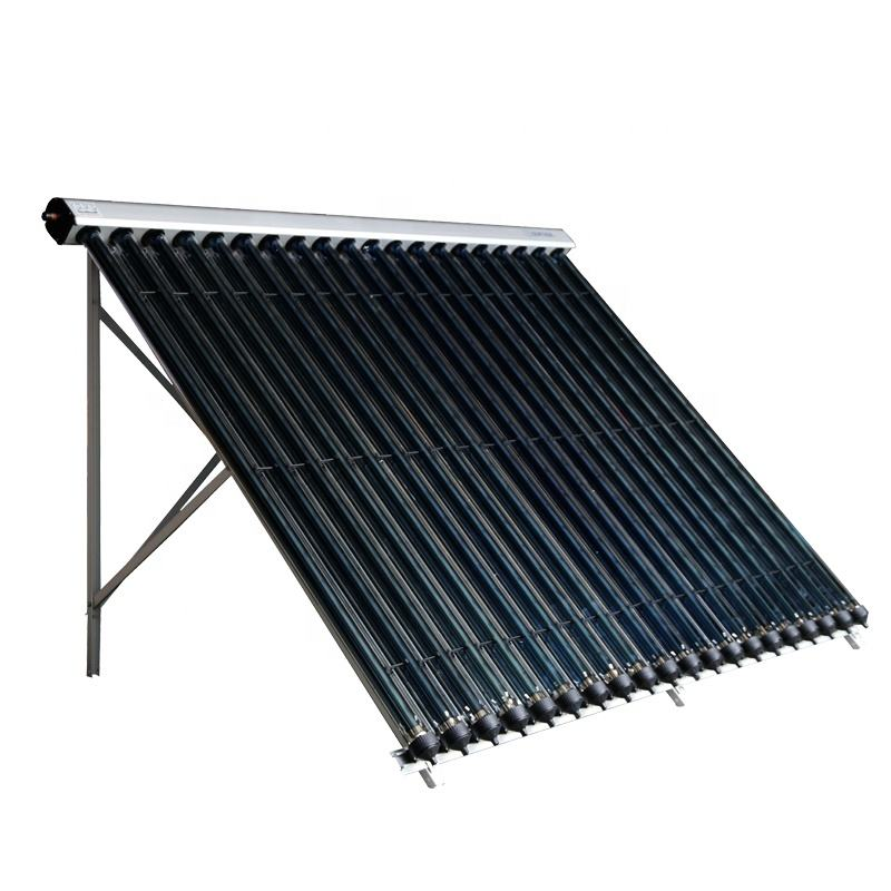 Highest Power Output Patented Fast Assembly CPC Reflector Vacuum Tube Solar Collector (SHC)