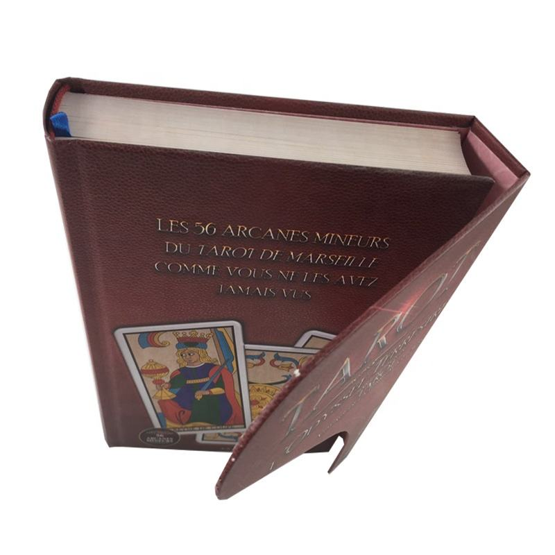 Printing custom leather cover address book with magnetic closure