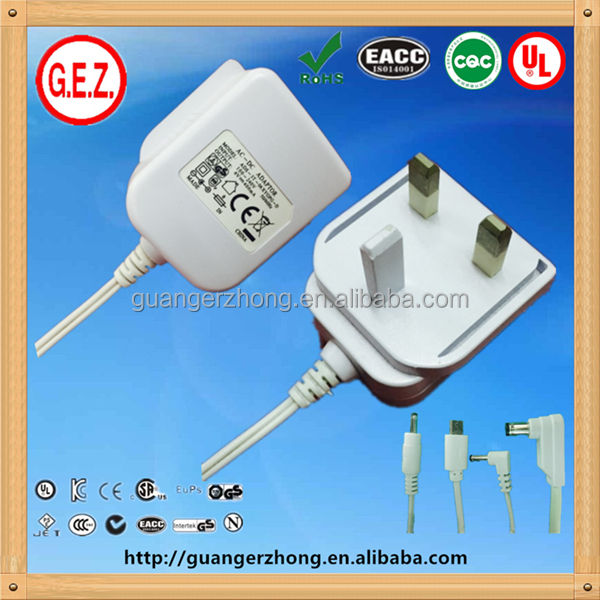 Comutação 5 V 4A AC Power Adapter DC ce, Cb, Ul, Fcc, Kc, Cul, Pse, C-tick, Meps rohs, Gs, Emc, Smark, Alcance, Weee