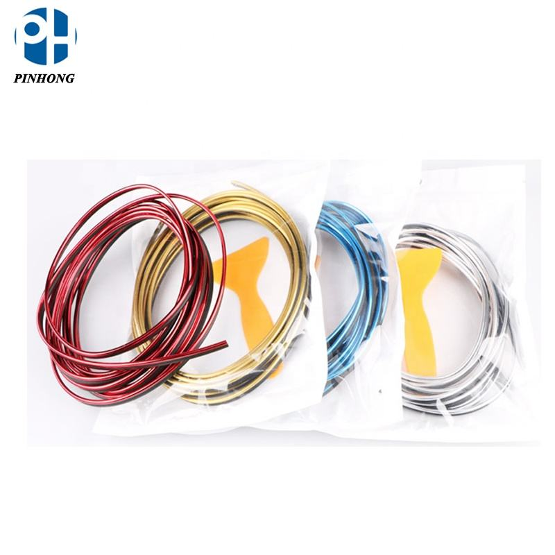 5M DIY Car Decoration Moulding Trim Strip Line for Car interior