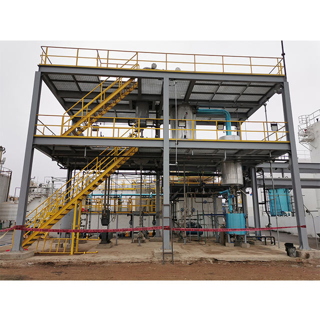 Methanol esterification biodiesel plant/glycerol processing machinery