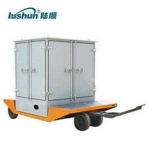 LUSHUN Brand 18000 Liters/H Two Stage Vacuum insulation oil purification