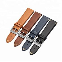 Italian Genuine leather handmade watchbands watch strap