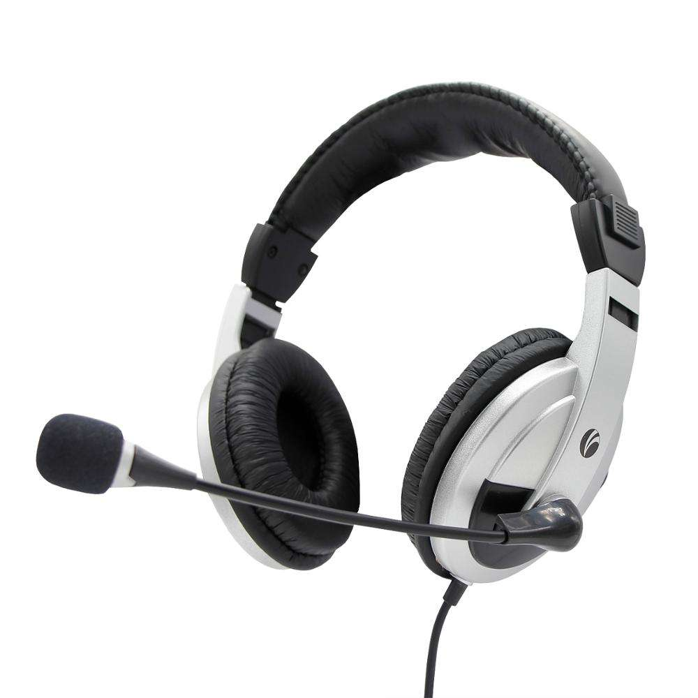 Cheap Price Ergonomics Headset Gamer PC Stereo Sound With Mic Adjustable for Office, Home and Students