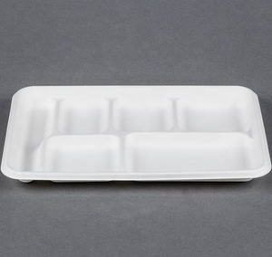Easy Green Wholesale Clamshell Packaging Biodegradable Bagasse Food Container