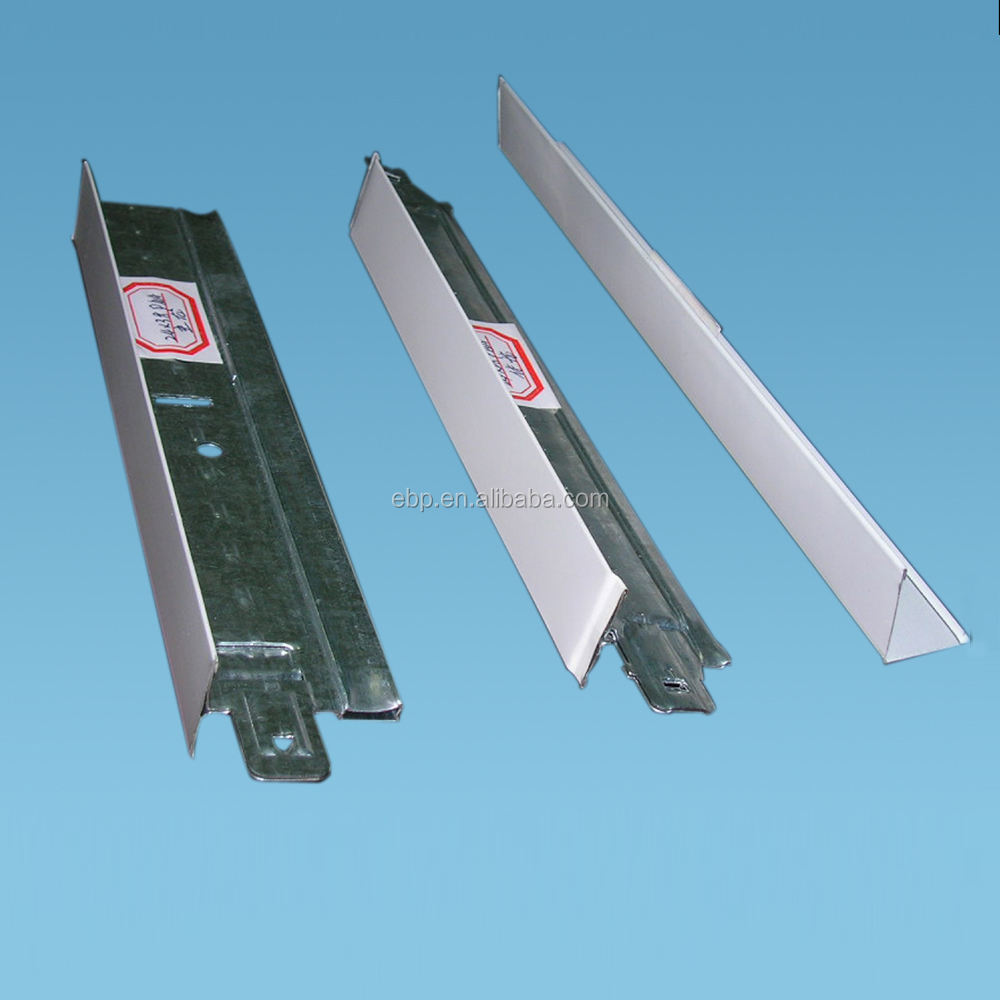 flat t bar, suspended ceiling tee grid, metal profiles