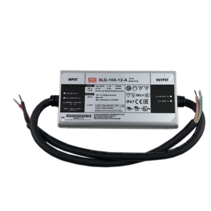 Xlg-100-12-a 대만 Meanwell 96 W 스위치 전원 방수 IP67 출력 전류 12 V 8A