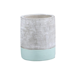 soy wax scented candles for decoration in cement cup
