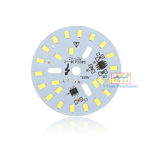 DOB AC220V 12W driverless for bulb down light driver on board led module