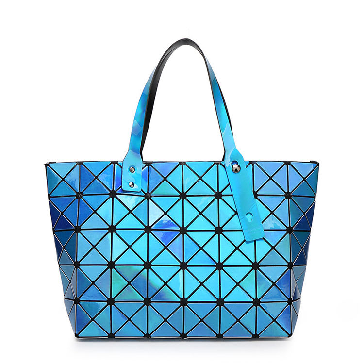 2017popular fashion Grid back shape Lady Candy Tote bag