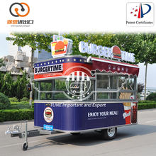 Frozen Donuts & Bratwurst Food Snack Cart, Juicer Mobile Van