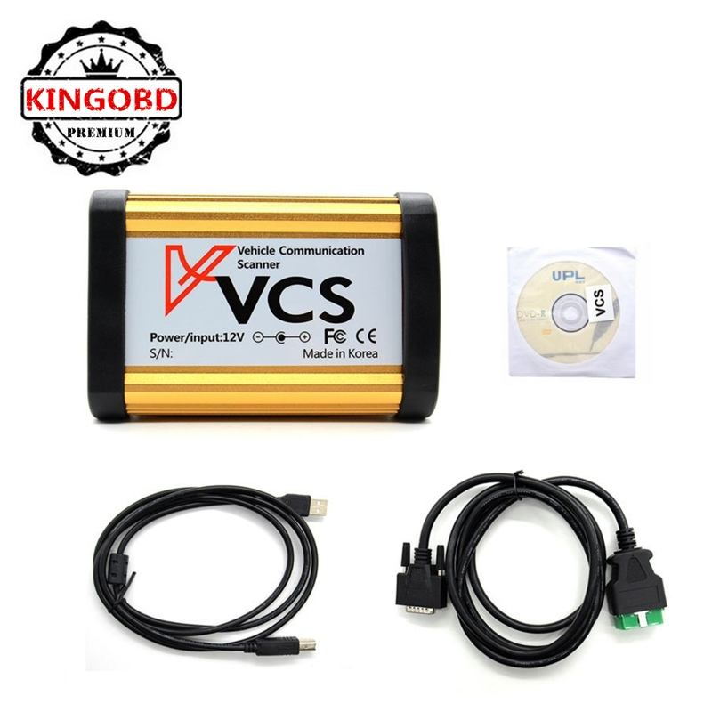 DHL Gratis verzending VCS Vehicle Communication interface Scanner Beste Prijs vcs Diagnostic Tool