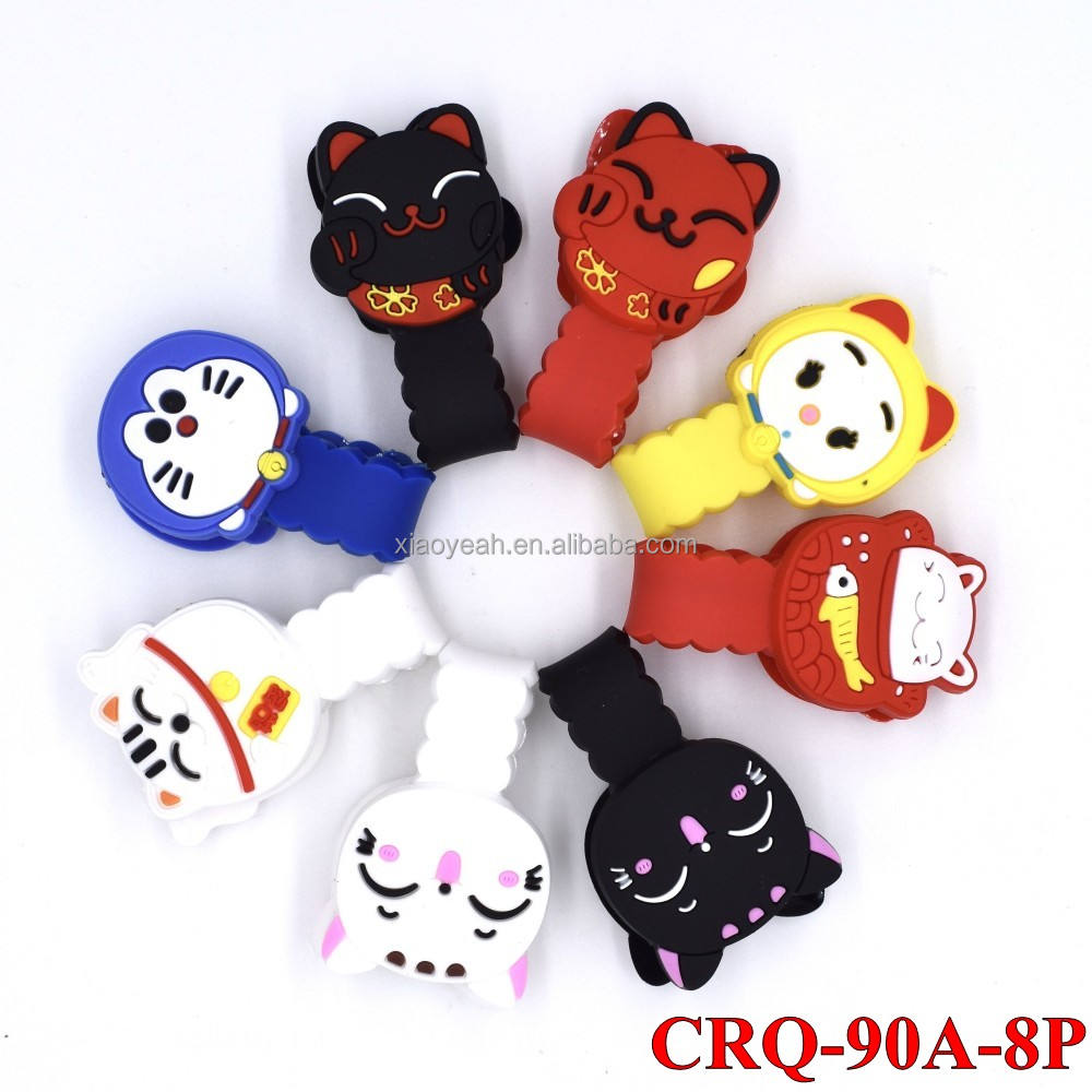 Lucky Cat/Super Mario/Pony Office/School Wire Cable Winders Wrap Cord Organizers