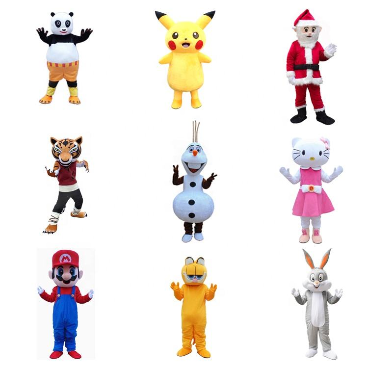 High Quality Cartoon Walking Doll Mascot Cute Halloween Party Costume Adult Size