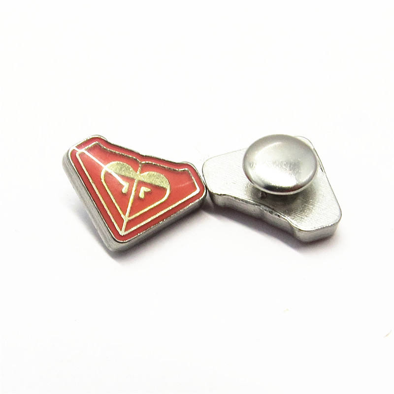 15Mm Custom Metalen <span class=keywords><strong>Klinknagel</strong></span> Naambord Lederen <span class=keywords><strong>Logo</strong></span> Klinknagels Voor Kleding