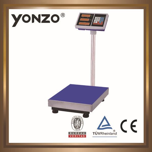 Yz-804 100 kg a 500 kg plataforma eletrônica digital pesando escala pequena escala investimento