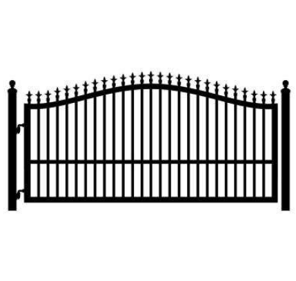 gates design Wrought Iron gate/beautiful steel fence