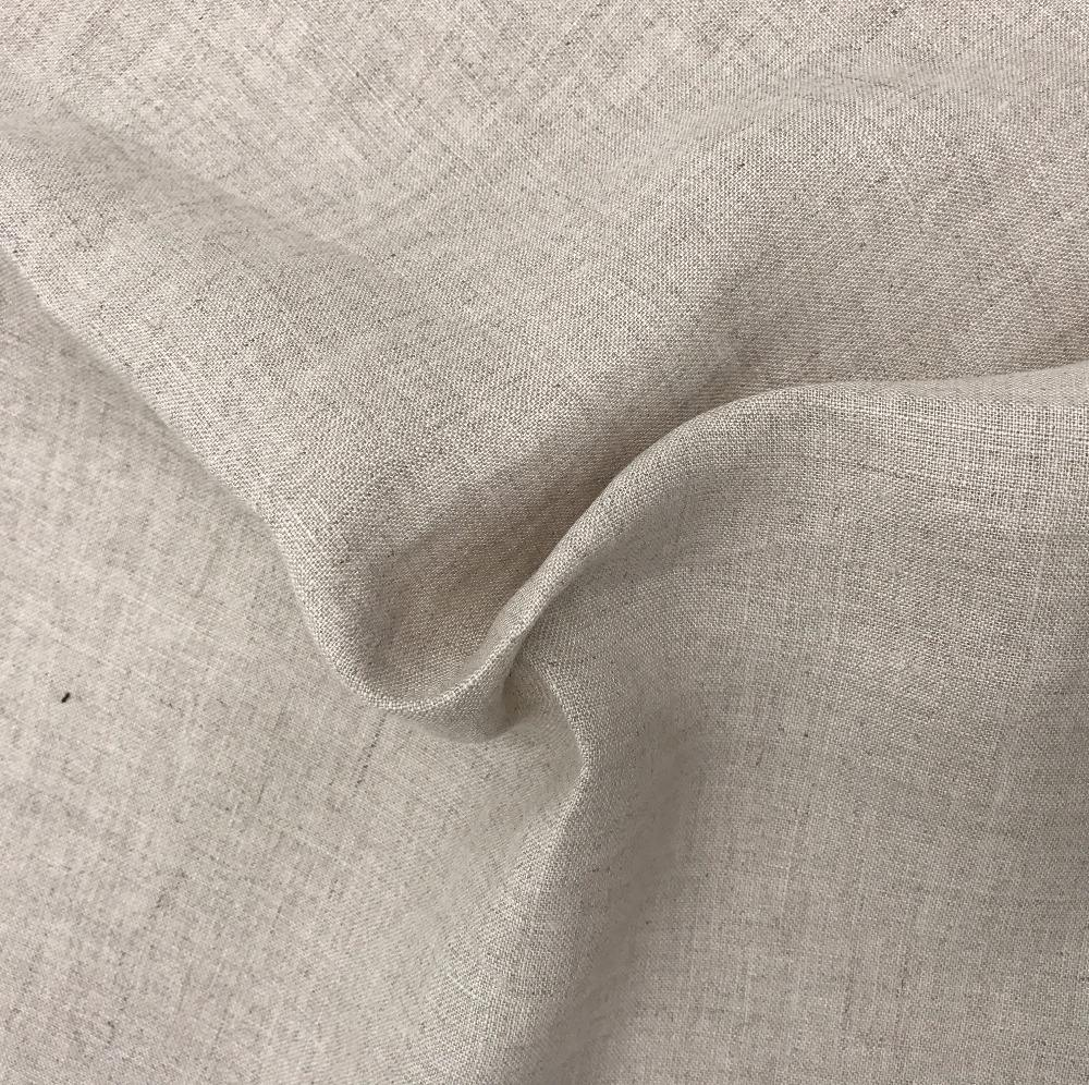 Wholesale color clothing 100% linen bed linen fabric