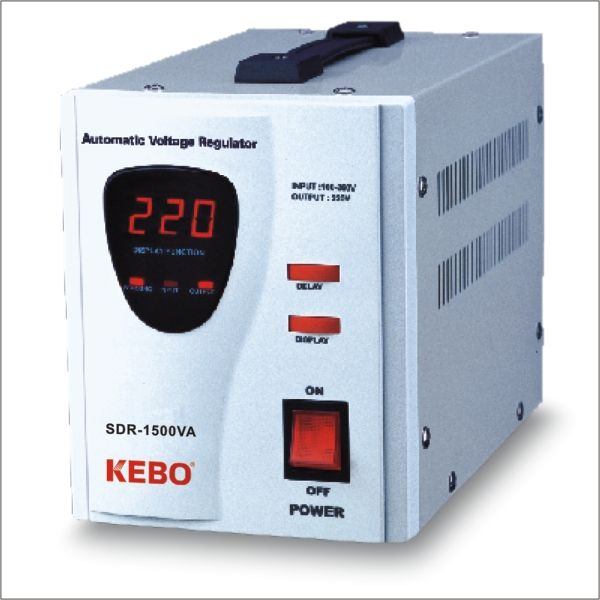 Kebo Relay Regulator Jenis <span class=keywords><strong>Tegangan</strong></span> SDR-1500VA