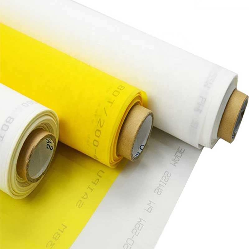 Supply 120T/306mesh Silk Polyester Screen Printing Mesh