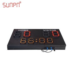 Electron Soccer Scoreboard Maker Display Score Board Digit outdoor Scoreboard