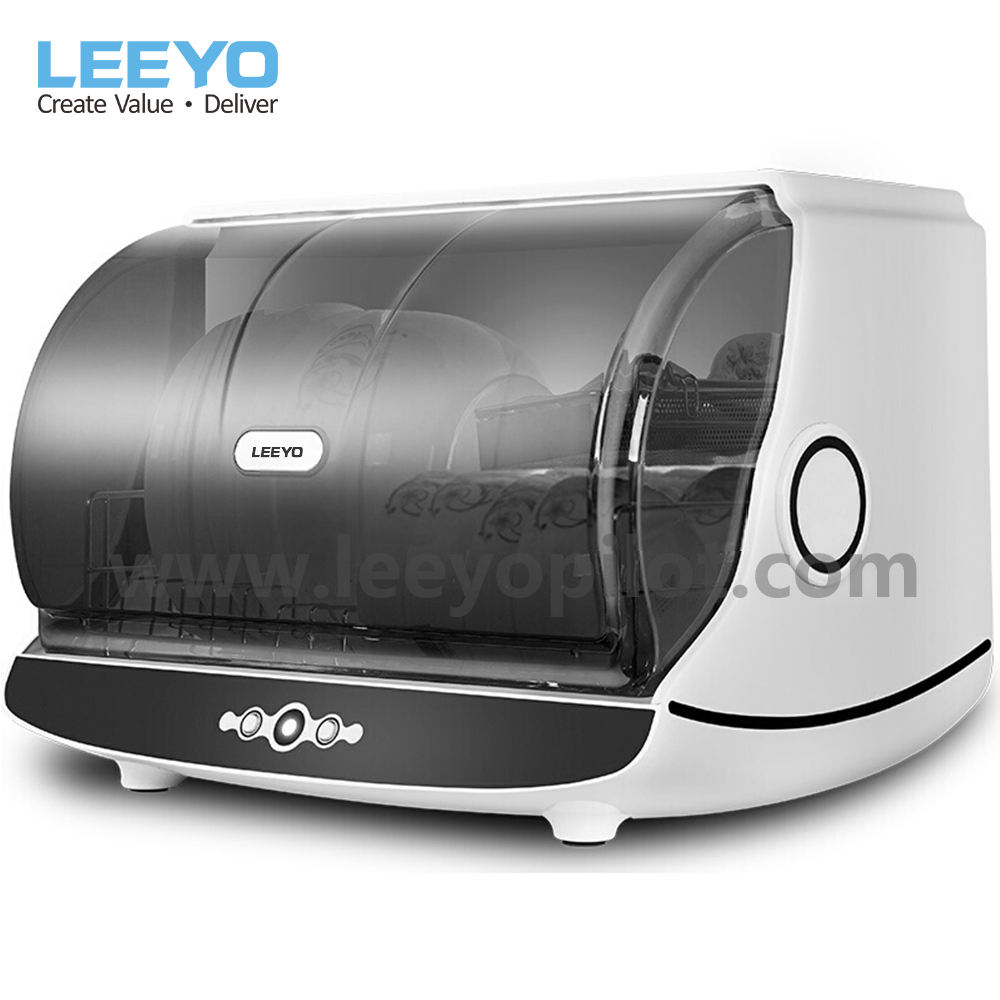 UV light dish dryer with hot air 30L