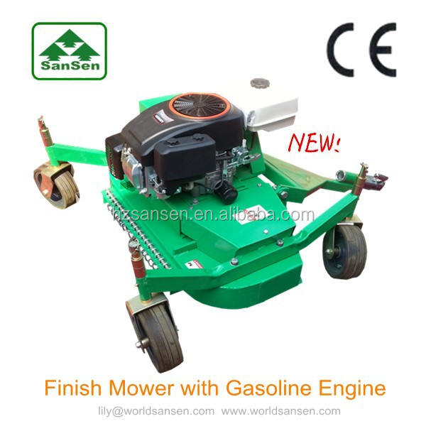 ATV Finish Mower with petrol engine loncin 16hp ,ATV attachments lawn mower