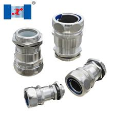 PA66 Stainless Liquid Tight Zinc Alloy Brass Hose Fitting Flexible Conduit Connector