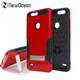 Heavy duty TPU+PC smartphone case for ZTE Z Max Pro 2 Z982 mobile cover with Metal kickstand Holder