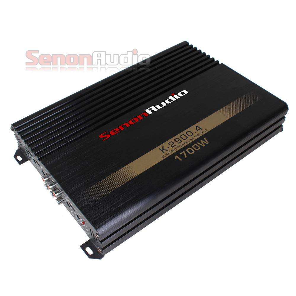 DC12V 4 Channel Class AB Car Stereo Power Amplifier, Car Audio Amplifier