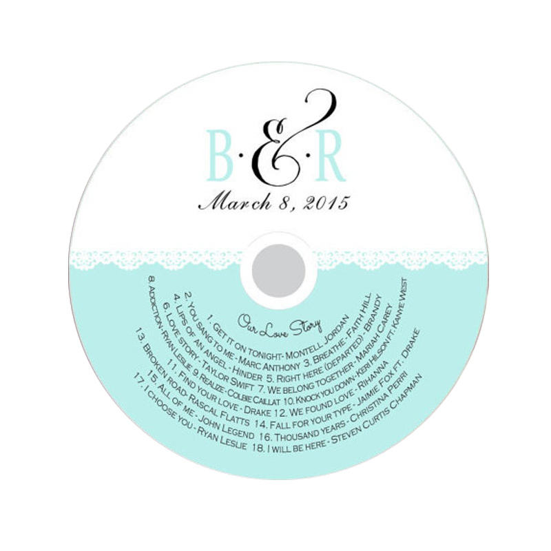 Custom printing self adhesive cd dvd label sticker