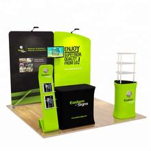 Hot sale 10ft portable trade show standard exhibition booth 3x3 display