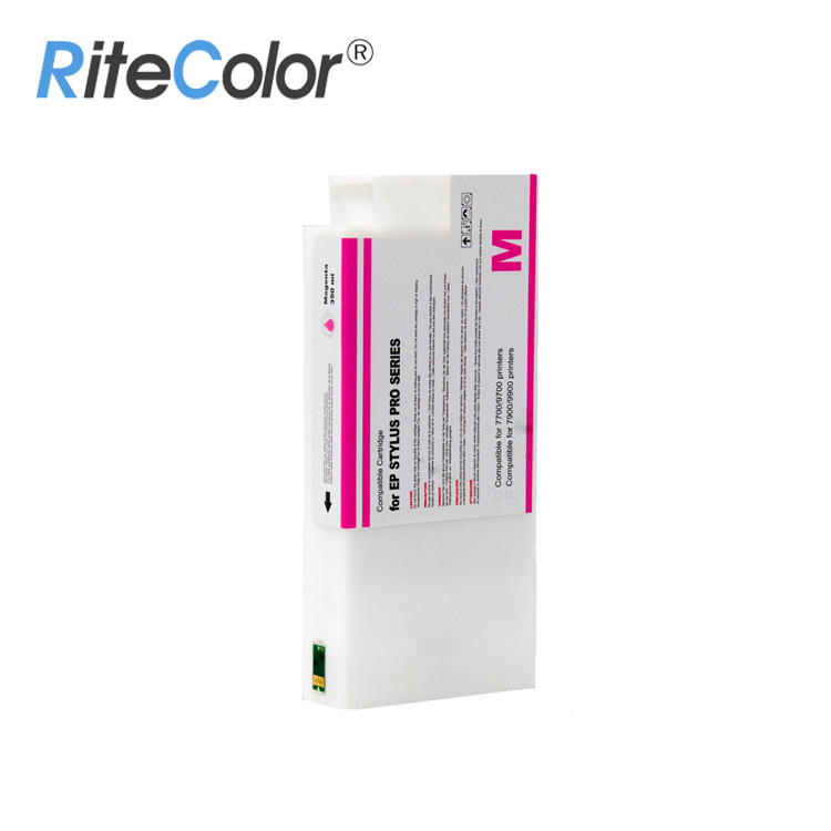 Premium Grade 350ML Pigment Ink Cartridge 9900 for Epson Stylus Pro 9900/7900 Plug and Play