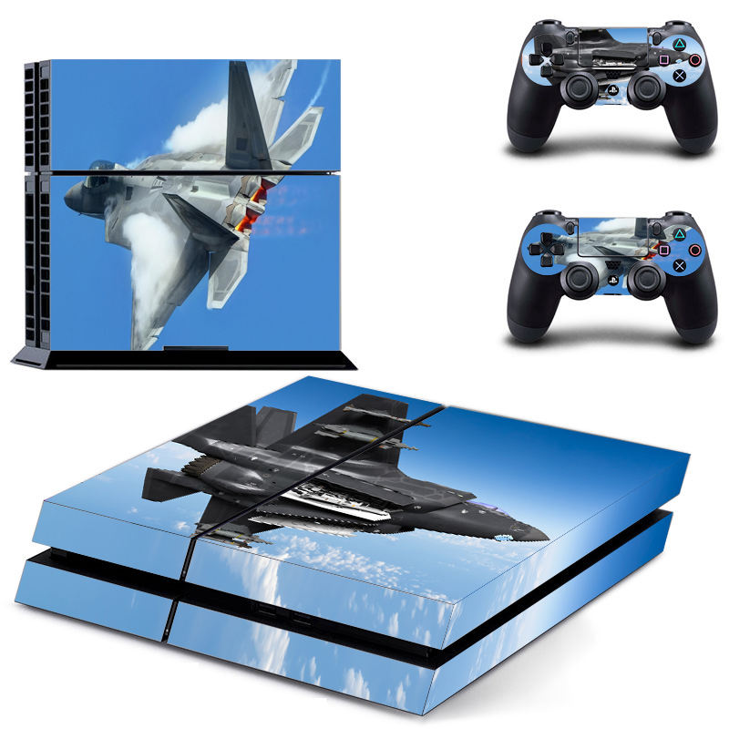 Wholesale Waterproof Custom Printing Adhesive Skin Sticker For PS4/Pro/Slim Controller