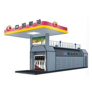 40FT mobile container filling fuel station