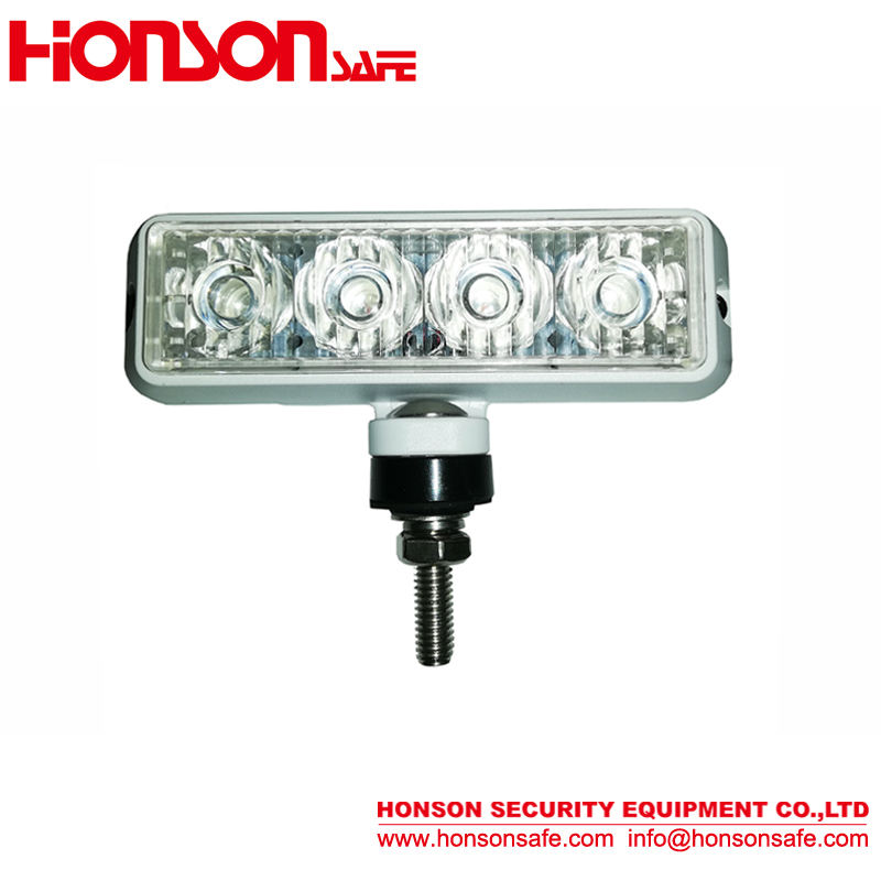 Factory wholesale 3W 4led AUTO side light High power LED flashing strobe signal light with bracket