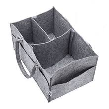 Polyester nonwoven handmade felt for household reusable storage basket