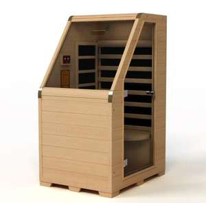 Factory OEM One Person Size Portable Mini Hemlock Infrared Sauna Room