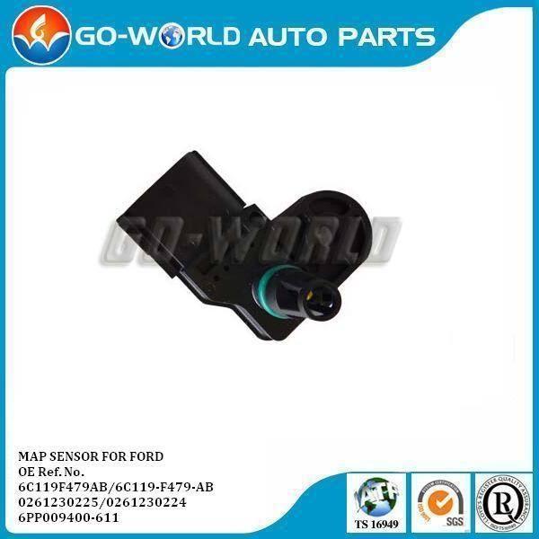 Genuine Bosch 0261230224 Boost Pressure Sensor 1503280 6C119F479AB M9101473