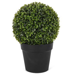Kunstmatige plant bonsai decoratieve plant bonsai plastic bal bonsai bomen voor decoratie