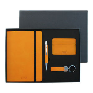 Quality PU Leather executive business men pen gift set