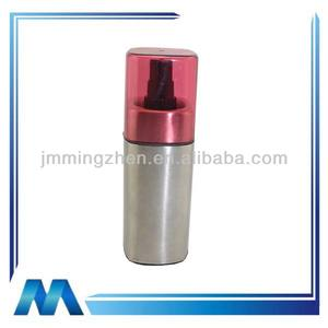 Fashion stainless steel oil and vinegar sprayer with ABS lid