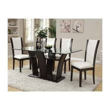 New Design Home Furniture Glass Dining Table
