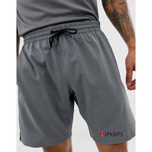 Custom Logo Summer Mens Workout Clothes Gym Running Shorts With Zipper Side Pockets
