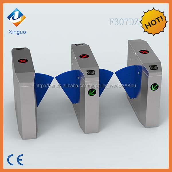 Hot vente automatique biométrique Flap portes pour d'accès trépied de <span class=keywords><strong>sécurité</strong></span> porte de barrière